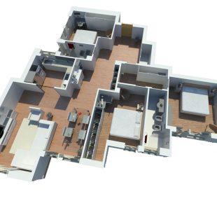 Casa Nomentana, Roma – (Progettazione e Ristrutturazione)