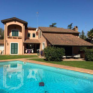 Villa Olgiata, Roma – (Progettazione e Ristrutturazione) Esterno – Stato di fatto