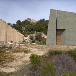 Chiesa Cava di Granito Calangianus (OT) (Progettazione)  – esterno