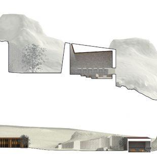 Chiesa Cava di Granito Calangianus (OT) (Progettazione) – Sezione